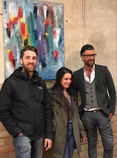 Ivan Todaro, Giulia Ravaglioli, Loris Zanrei